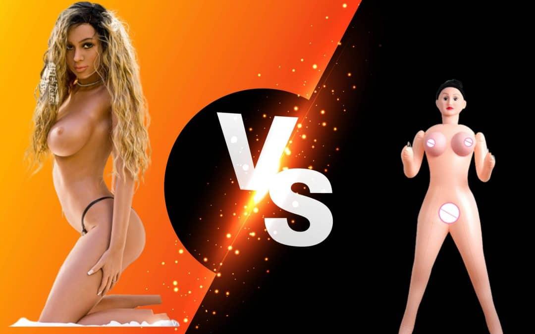 Gummipuppe vs. Real Doll