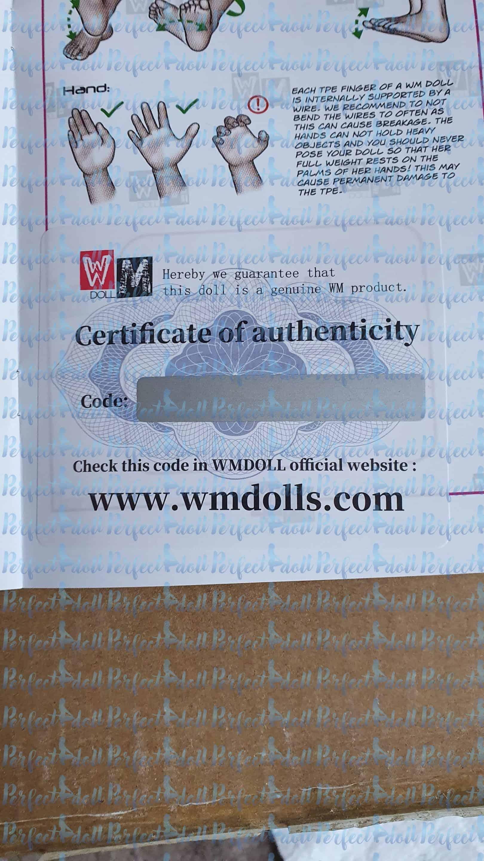 wmdoll zertifizierung echtheit
